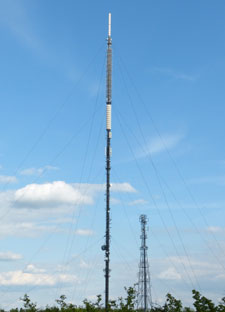 Oxford TV Transmitter from Beckley Village