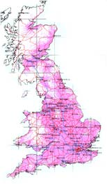 DAB Coverage Map (UK)