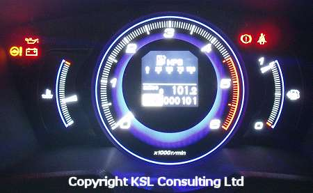 ... Provides Instantaneous Fuel Consumption In The Form Of A Bar Graph,  Digital Readout Of Average Fuel Consumption (by Trip), Range To Empty, Trip  Distance ...