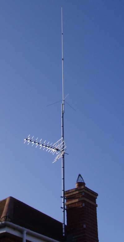 Indoor HF Antennas, Attic Amateur Radio Station Aerials